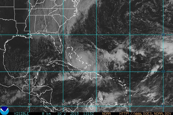The Bahamas are getting pounded